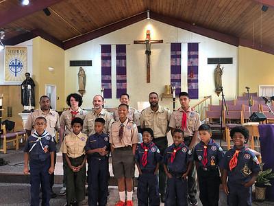 2019 Scouts Worship Service & Fellowship