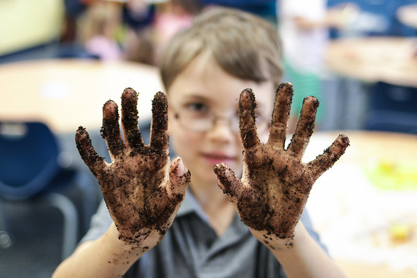 Getting Our Hands Dirty in First-Grade Social Studies