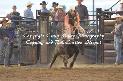 1st Go Steers Bareback 05-22-15