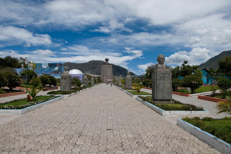 "Mitad del Mundo ""Middle of the world"" Monument"