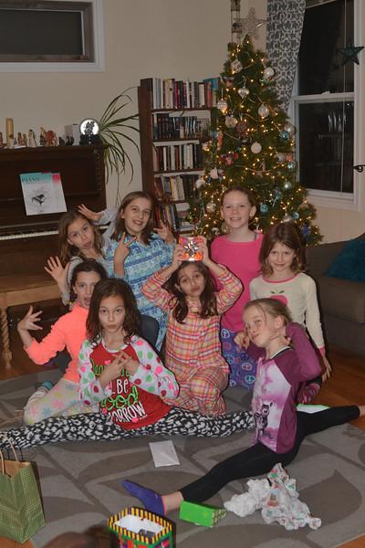 Maya's Christmas party