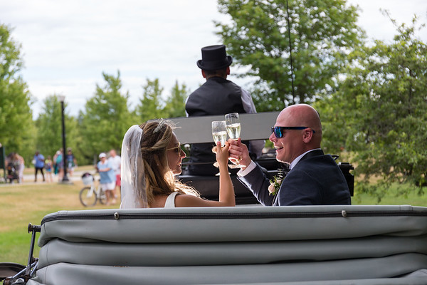 Morgan + Mike Wedding Mackinac Island Michigan