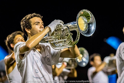 8/24/2015 Marching Practice - 1st Day of the School Year