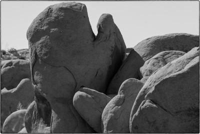 Rock Formations - Cottonwood Springs - Joshua Tree