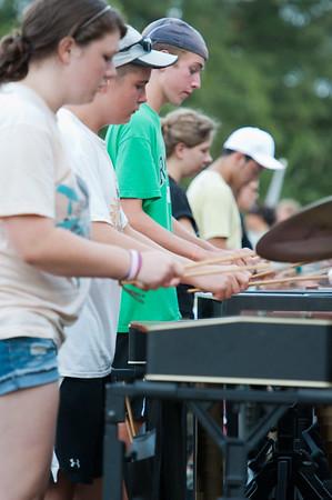 2011-2012 RHS Band Camp