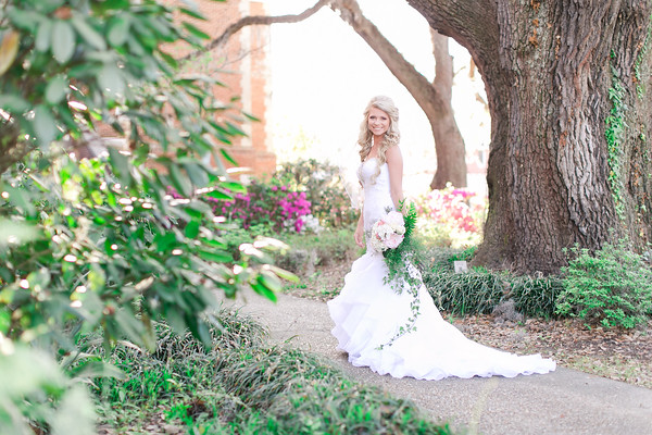 Meghan | Southern Bridal Session | Downtown Conway, SC