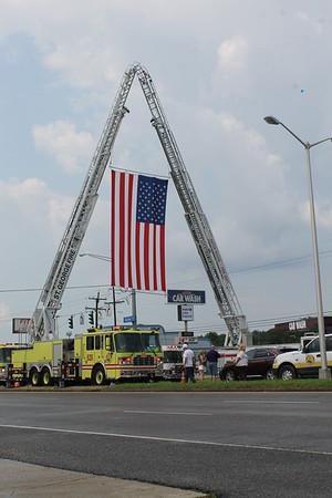Deputy Brad Garafola Funeral Procession 7-23-16