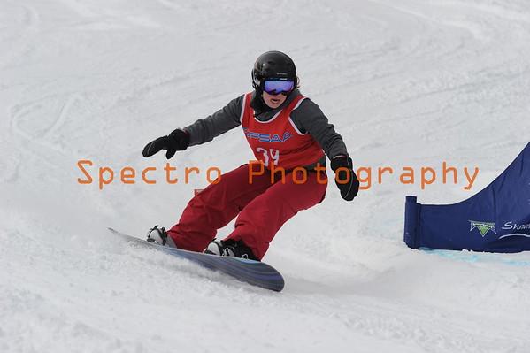 OFSAA Snowboarding 2016 Girls 2nd Run
