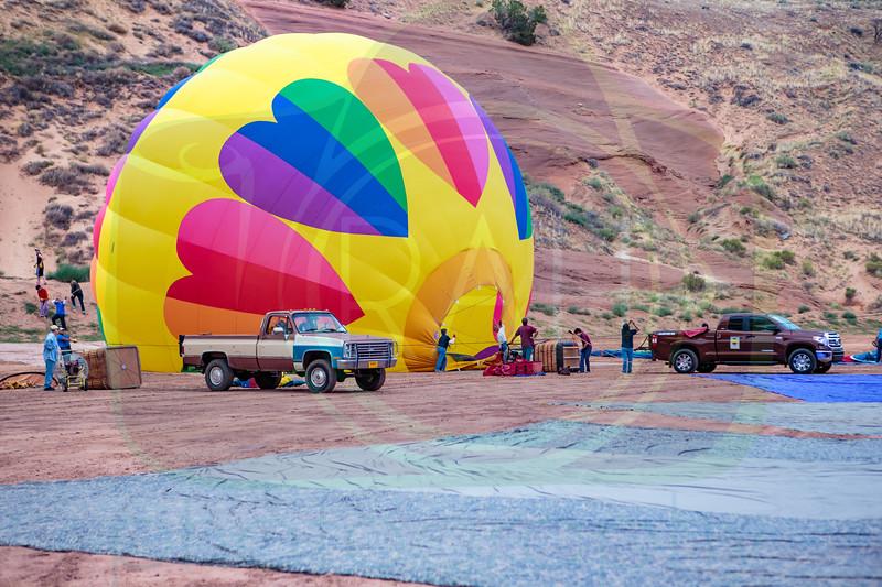 Rt. 66 Freedom Weekend Balloon Launch 7-28-17