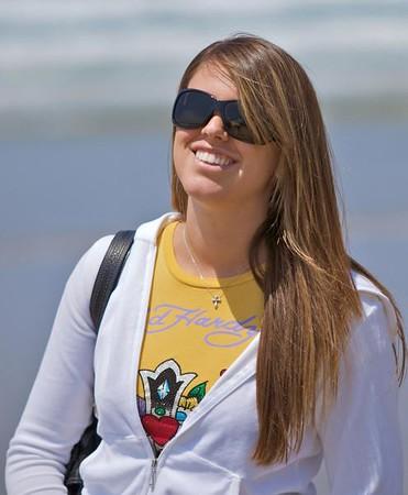 Brittanie at the Beach