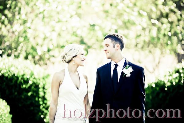 Jennifer and Rick Creative Wedding Photos