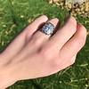 1.82ctw Diamond Cluster Ring 12
