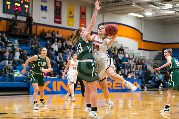 Wheaton College Women's Basketball vs IL Wesleyan, CCIW Tournament Championship Game, February 23, 2019