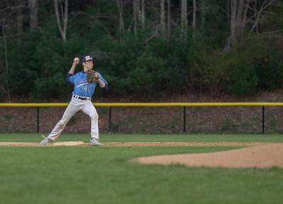 Varsity Baseball 4/25 vs North Attleboro