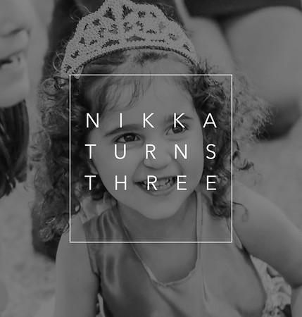 Nikka Turns 3