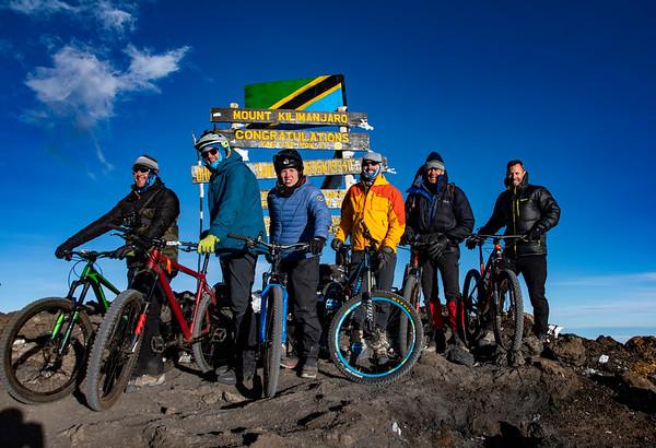 Kilimanjaro by Mountain Bike October 4-8, 2019