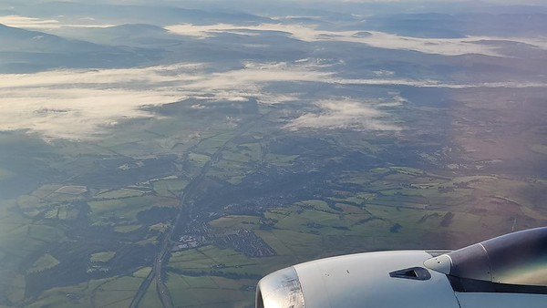 Arriving Glasgow