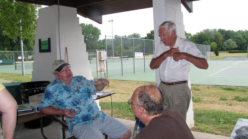 Warren Phillips, Charles Pergrossi & Bob Clark