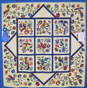 Large Appliqued Quilts