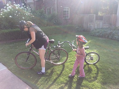 Bicycles and the Girls