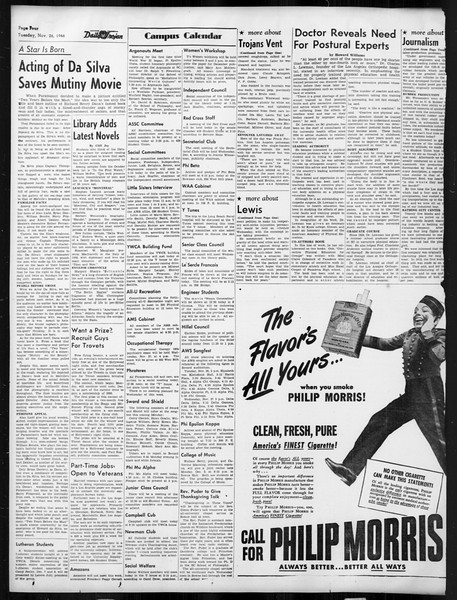 Daily Trojan, Vol. 38, No. 52, November 26, 1946