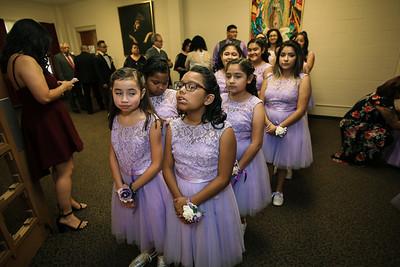 Photos during Mass