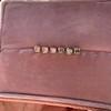 .78-.82ctw Asscher Stud Earrings, in Yellow Gold 23