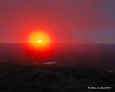 Sunrise 10-22-2011 Climb