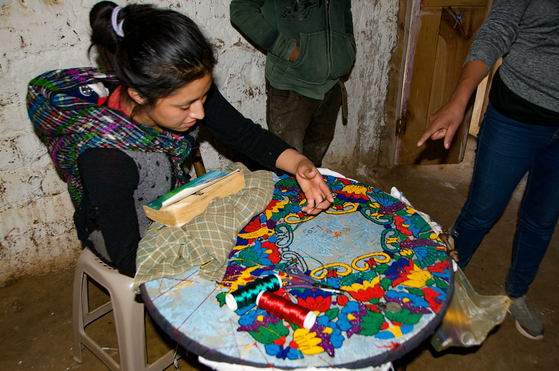 Stove Building Day 2 with volunteers and CEDEC in Aldea Rancho Santa Maria Chiquimula