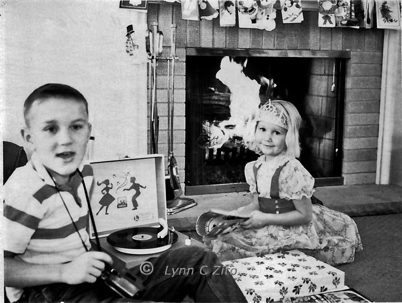 DANA & LYNN DECEMBER 25,1962