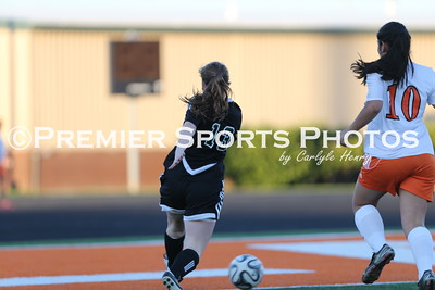 La Porte Girls JV Soccer vs Kingwood Park 1/20/2015
