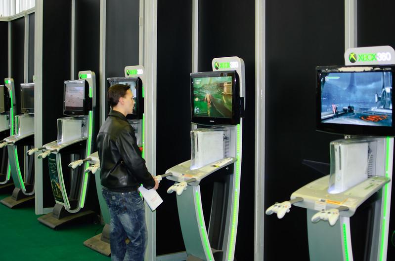 Xbox 360 at Igromir 2010