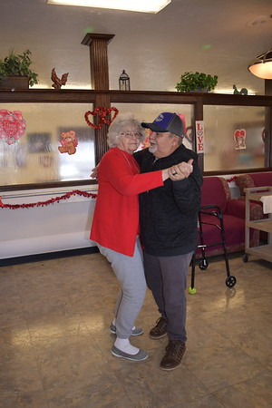 Shanoan Springs love it up on Valentine's Day