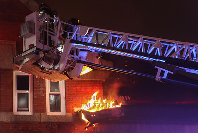 Lawrence, MA - 3rd Alarm, 451 Howard Street, 12-23-17