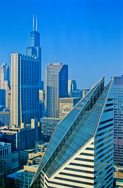 Skyline Sears Tower Willis Tower