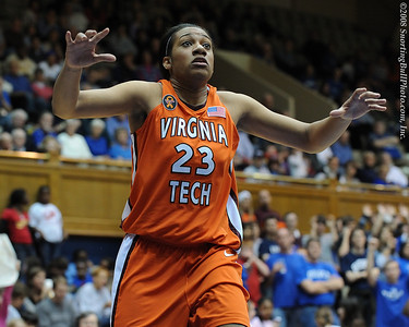 2/01/08 - NCAA Women: Duke Blue Devils vs Virginia Tech