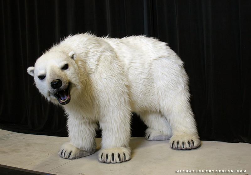 Cirque du Soleil Zaia polar bear.JPG