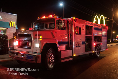 09/29/2017, All Hands Commercial Structure, Upper Deerfield Twp. N. Pearl St. Burger King.