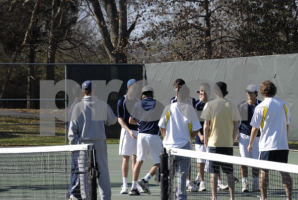 Men's Tennis vs Emmanuel