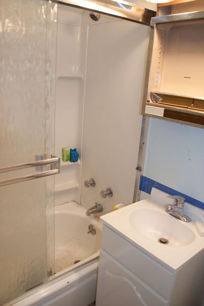 Hall bathroom.