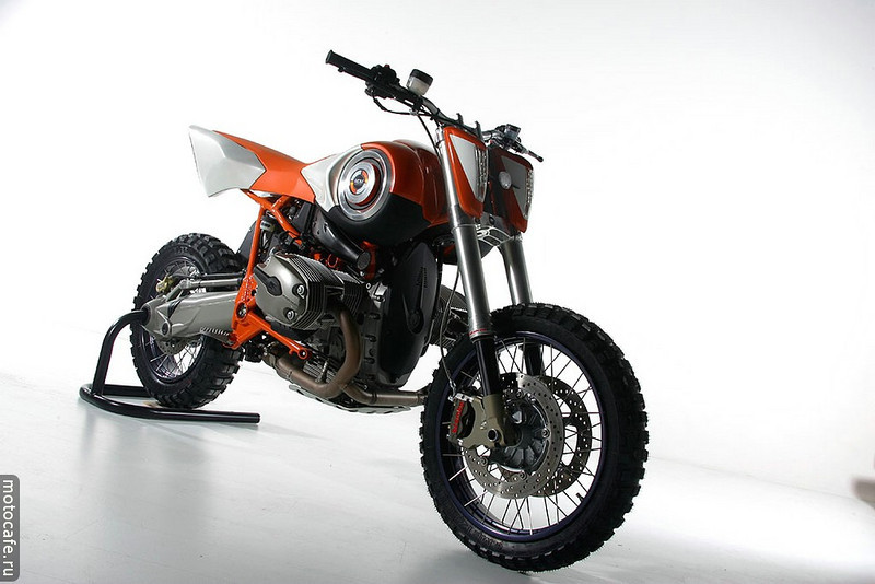 Modified BMW HP2 Enduro