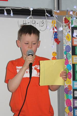 Aaron's Poetry Jam 4/2013