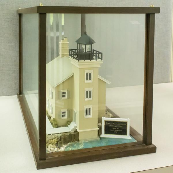 Turtle Island Lighthouse - 1831, Model built 1996