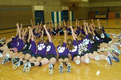 2011 Cougar Volleyball Clinics-Camps