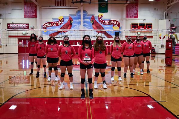Varsity/JV Volleyball  3-22-2021