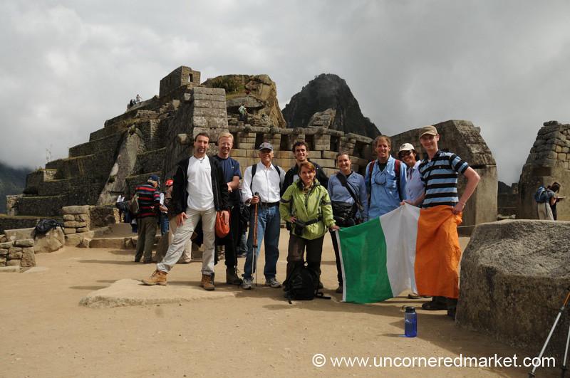 Together at Machu Picchu - Peru