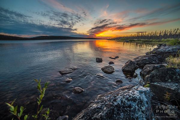 Sunset Lake - NWT