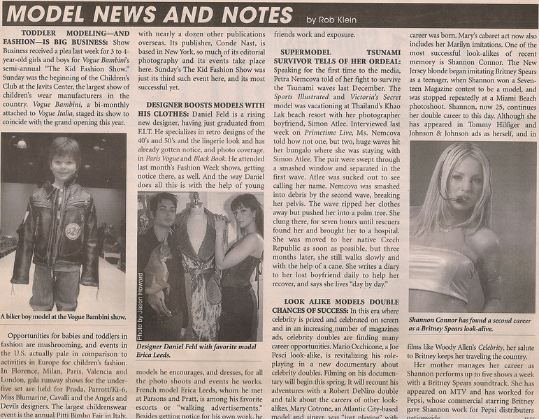 SHOW BUSINESS WEEKLY |  MARCH 2005
