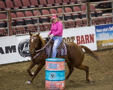2017 NILE Barrel Race Exhibition Runs