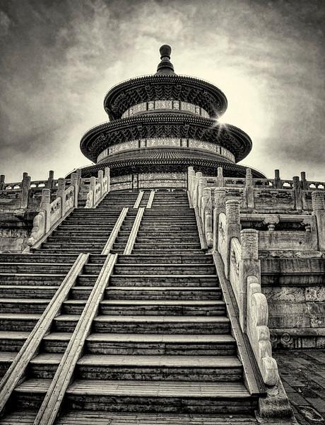 Temple of Heaven. Beijing.